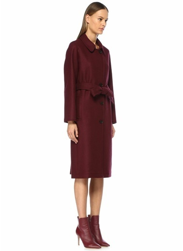 Beymen Collection Palto Bordo